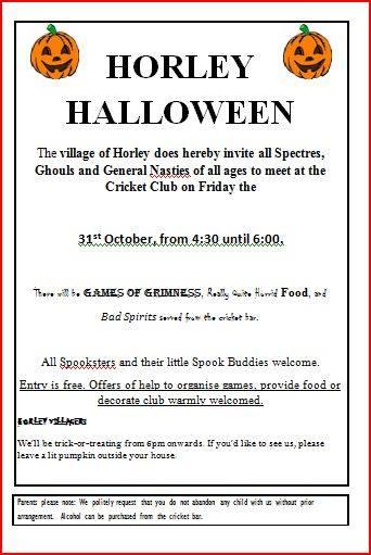 Horley Halloween