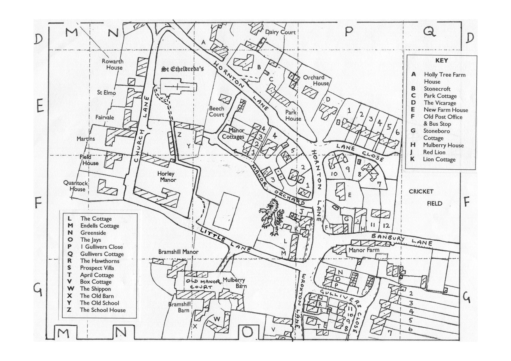 Banbury England Map.Village Maps Thehorleyviews Com