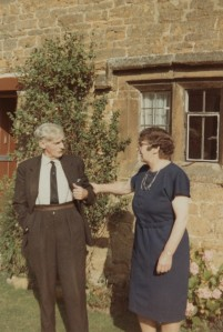 Mr and Mrs Eadon at Chapel Cottage