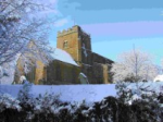 St. E in snow