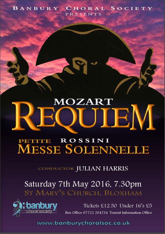 BCS Mozart Poster A5