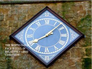 North facing clock