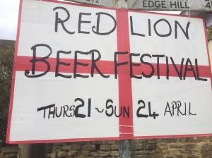 Red Lion Beer Festival 2016