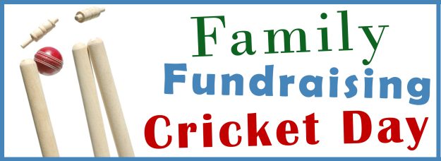 Family Fundraising Cricket Day