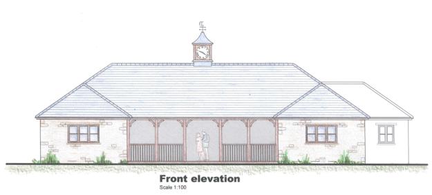 HCC Pavilion plans-front
