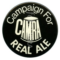 CAMRA real ale campaign badge c 1975
