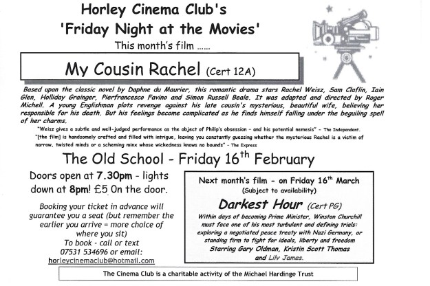 cinema club flyer